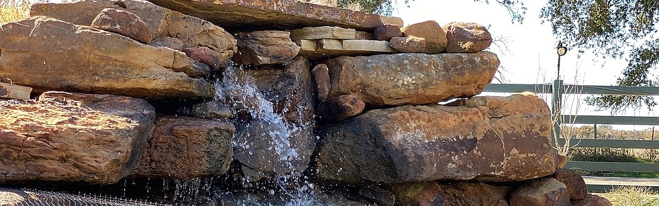 Waterfalls, Ponds, Fountains and other Water Features
